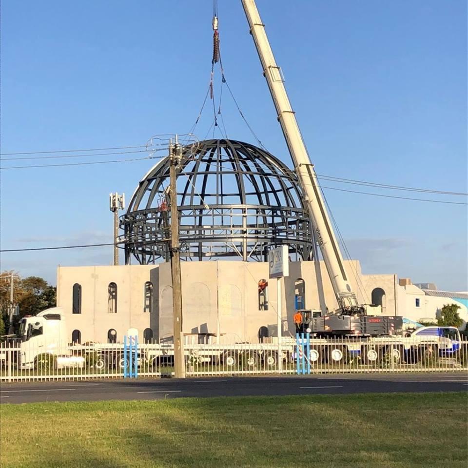 Avustralya'da bir ilk: Cami projesinde sona gelindi 3